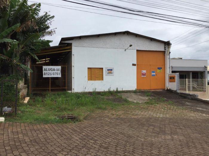 Pavilhão no bairro Universitário em Lajeado