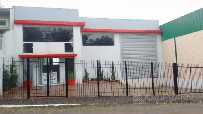 Pavilhão no bairro Moinhos em Lajeado
