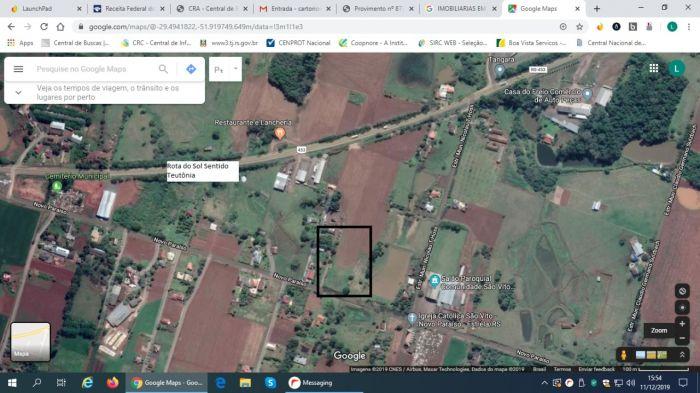 Terreno no bairro Novo Paraíso em Estrela